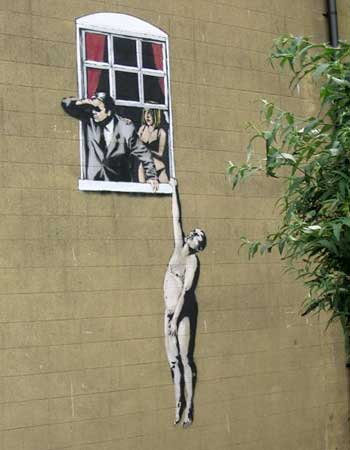 'banksy-'Banksy- Facebook-social network- - Chad Hurd-Inspirational- leadership-Inspiration-leader-Chuck close- art-painter- Picaso3 - '