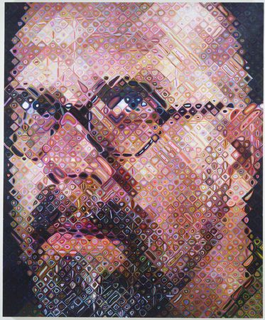 'Inspirational- leadership-Inspiration-leader-Chuck close- art-painter-photography- Hyper-realistic-painter'