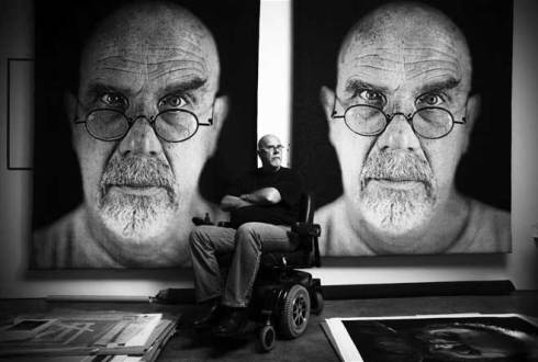 'Inspirational- leadership-Inspiration-leader-Chuck close- art'