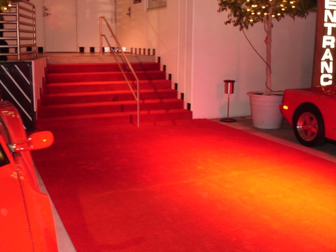 Red Carpet & Stairs